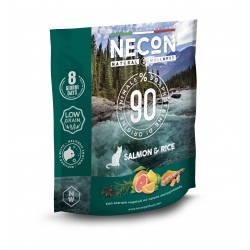 Necon NATURAL WELLNESS ADULT SALMON & RICE superpremium 400gr