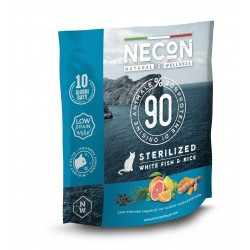 Necon NATURAL WELLNESS STERIL WHITE FISH & RICE superpremium 400gr
