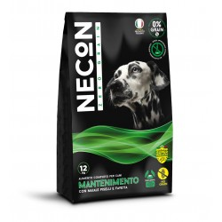 Necon Zero Grain mantenimento with swine meat, peas and broad beans 12kg