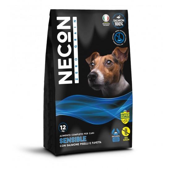 Necon Zero Grain sensible with salmon, peas and broad bean 12kg