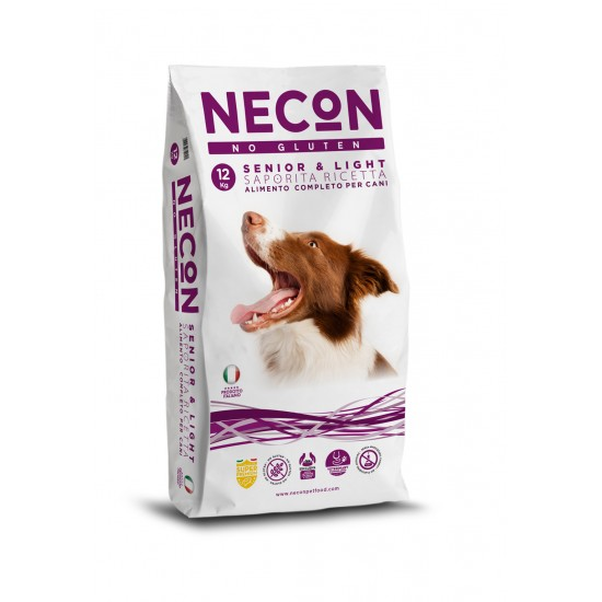 Necon Saporita, a light  SUPERPREMIUM No Gluten 12kg